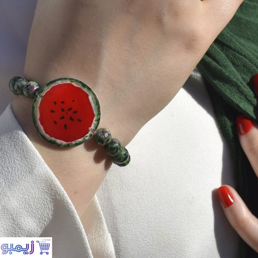 دستبند مدل هندونه