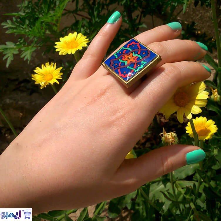 انگشتر برنزی زنانه ویترای